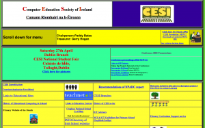 CESI Website (2002) - click to enlarge