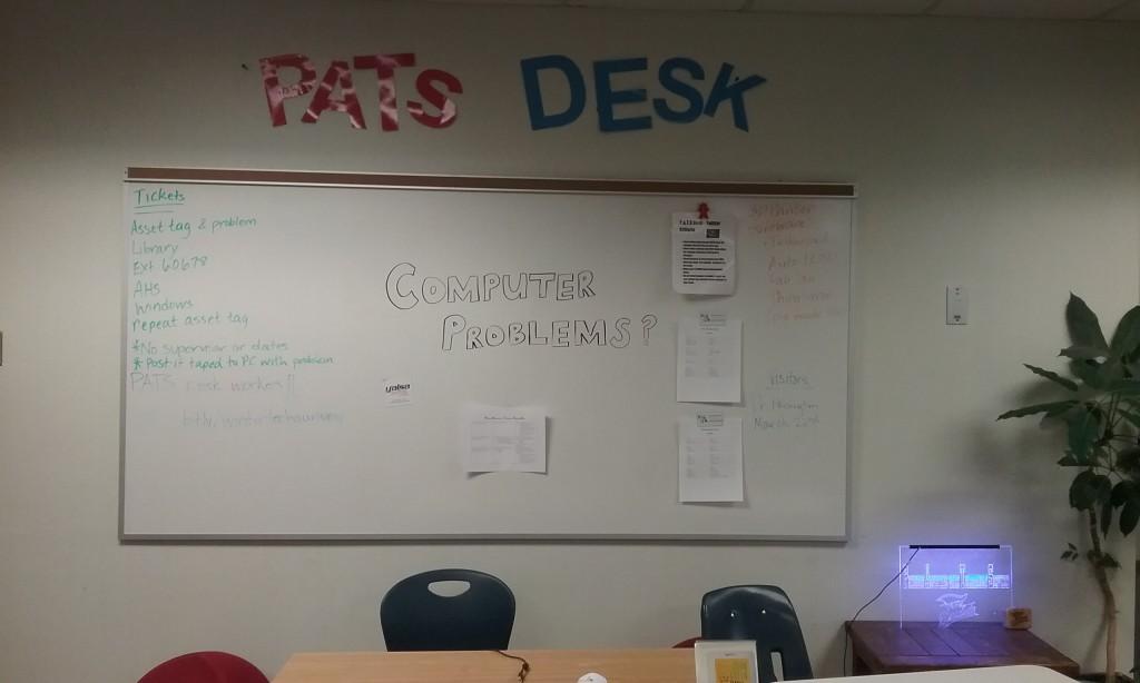 Student Tech desk